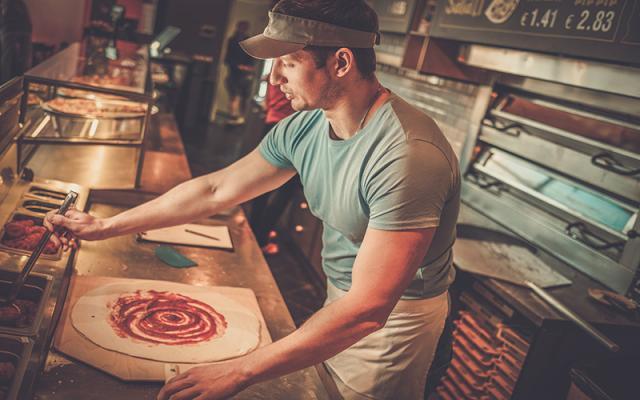 Ilmoita pizzeriat, kysyntää usein!