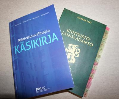 Kiinteistön lakikirja ja kiinteistönvälitys käsikirja